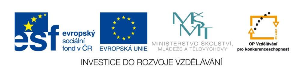 logo investice do rozvoje vzdělávání